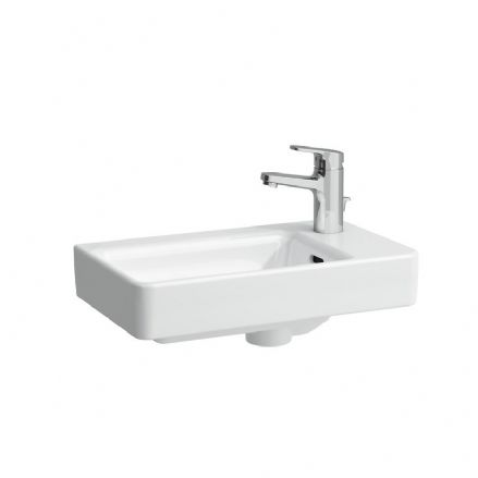 815954 - Laufen Pro S 480mm x 280mm Washbasin With Right Taphole - 8.1595.4